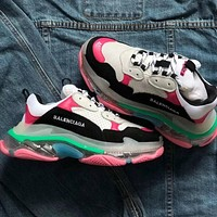 Balenciaga Triple S new air cushion old shoes sneakers shoes