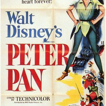 Peter Pan 11x17 Movie Poster (1953)