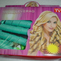 Magic Leverag Circle Hair Styling Roller Curler 18 pcs