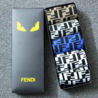 Fendi Fashion New More Letter Leisure Sports Sock Five Pairs Of Socks Boxed