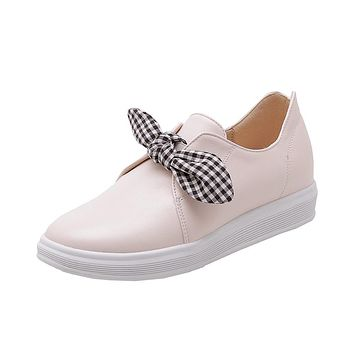 Women's Casual Round-head Flat Shoes