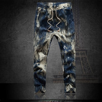 Autumn Fashion plus size 4XL Cargo Loose Trousers Men Sweat Harem Joggers Pants Hip Hop Dance Sports Pants = 1958356996