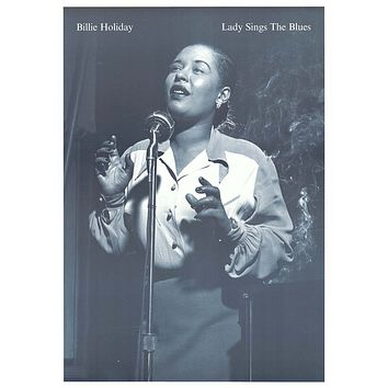 Billie Holiday Lady Sings the Blues Poster 24x34