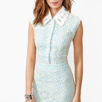 Daisy Sky Lace Dress