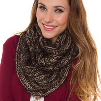 Camden Infinity Scarf - Taupe - One Size / Taupe