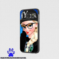 Disney Frozen Hipster Elsa for iphone 4/4s/5/5s/5c/6/6+, Samsung S3/S4/S5/S6, iPad 2/3/4/Air/Mini, iPod 4/5, Samsung Note 3/4 Case * NP*