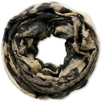 D&Y Face Of The Tiger Grey Infinity Scarf
