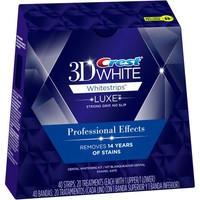 Crest 3D White Whitestrips Luxe Professional Effects Teeth Whitening Kit - Walmart.com