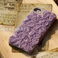 rose lace iphone 4s case,iphone 5 case, iphone 4 cover,unique iphone 4 case iphone 4s case