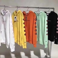 Champion Woman Men Fashion Hoodie Top Sweater
