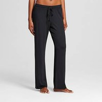 Women's Total Comfort Pajama Pants Black - Gilligan & O'Malley™