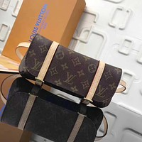 LV Louis Vuitton MONOGRAM CANVAS WAIST PACK CROSS BODY BAG