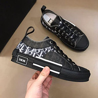Dior B23 High Top Logo Oblique Women men sneakers Shoes