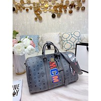 MCM Women's Leather Shoulder Bag Satchel Tote Bags Crossbody