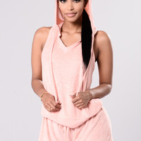 Work It Out Top - Blush