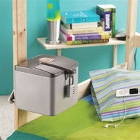 College dorm security safe for valuable is our Bed Post Cube Safe