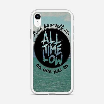 All Time Low Collage iPhone XR Case