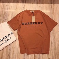 BURBERRY Women Simple T-shirt-4