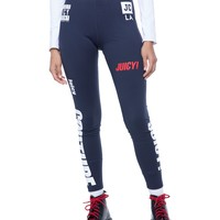 MIXED LOGO SPORT COMPRESSION LEGGING