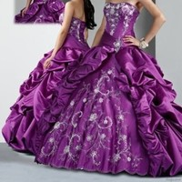 New Beading Quinceanera Dresses Ball Gown Prom Pageant wedding Dress Custom