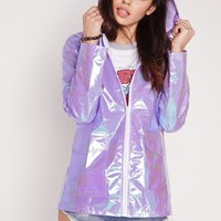 Missguided - Holographic Rain Mac Lilac