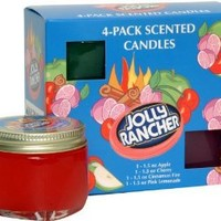 Jolly Rancher by Hanna's Candle 4-Pack Jolly Rancher Sampler Candle