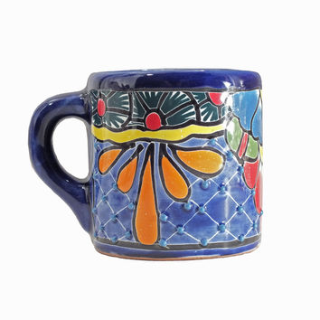 Authentic Handpainted Mexican Talavera Tea or Coffee Mug