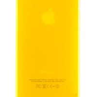 Yellow Frosted Transparent Gel Case for iPhone 5 & 5s