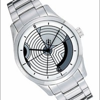Frank Lloyd Wright Hoffman House Watch with Stainless Steel Bracelet NEW!