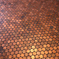 Floor of Pennies - The Standard Grill (NOTCOT)
