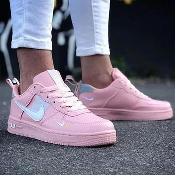 NIKE Air Force 1 Popular Woman Men Running Sneakers Sport Shoes