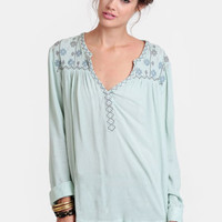 Tarot Reader Embroidered Blouse