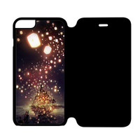 Disney Tangled Maximus, Rapunzel and Flynn iPhone 6S Plus Flip Case Cover