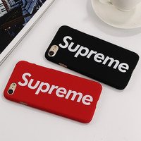 Supreme Hard Plastic Protective Phone Case For iPhone 7 7Plus 6 6s Plus 5 5s SE