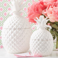 Design Darling home decor & monogrammed gifts — Pineapple Jars (Two Sizes)