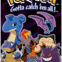 Pokemon Gotta Catch Em All Poster 11x17