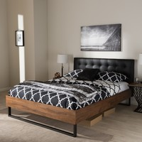 Industrial Bed by Baxton Studio | Overstock.com Shopping - The Best Deals on Beds