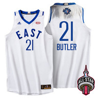 2016 Toronto NBA All-Star Eastern Conference Chicago Bulls Jimmy Butler #21 White Jersey