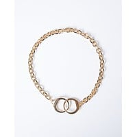 Cuffed Chain Necklace