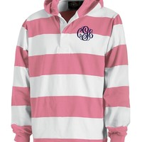 Monogrammed Classic Hooded Rugby Shirt   Clothing & Outerwear   Marley Lilly
