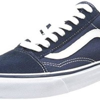 Vans Unisex Dress Blue/True White Old Skool Sneakers