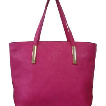 Classic Pink Tote Bag Shopper Bag