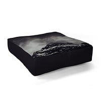Leah Flores Mountain Floor Pillow Square