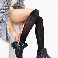 Braided Rib Over-The-Knee Sock-