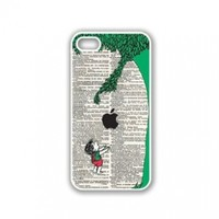 CellPowerCasesTM Giving Tree Illustration iPhone 5 Case White - Fits iPhone 5