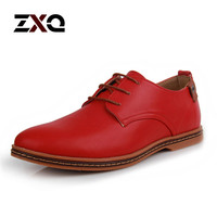 Hot Sale New Oxford Shoes For Men Fashion Men Leather Shoes Autumn Men Casual Flat Patent Leather Men Shoes