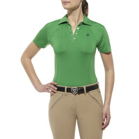 Ariat Womens Cambria Polo Shirt - Green