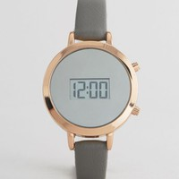 New Look Sleek Digital Dial Watch at asos.com