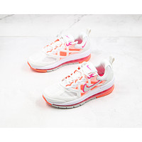 Morechoice Tuiw Nike Air Max Genome White Bright Mango Women Sneaker Casual Running Shoes Cz1645 101