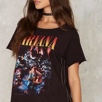 Nirvana Relaxed Graphic Tee